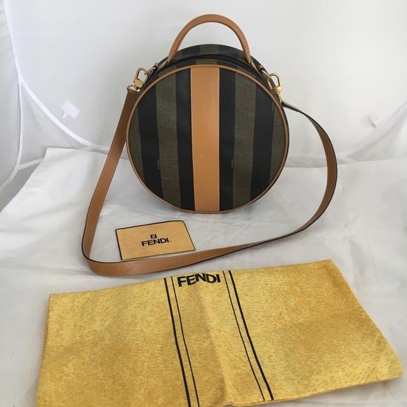 07d1b1111d Fendi Handbags - Rare Vintage FENDI Roma 1925 Canteen cross body
